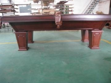 8 Ft. Pooltunierbillardtisch Billardtisch Massivholz mit 3cm starken Schieferplatten -