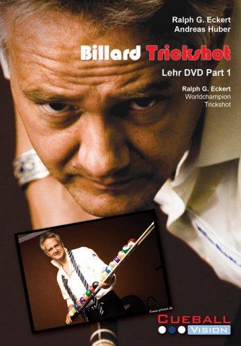 Billard Trickshot Part 1 Ralph G. Eckert DVD -