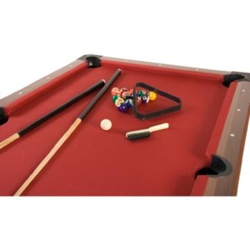 Pool Billard Billardtisch Trendline, verschiedene Farbvarianten, 5 ft, massive Ausführung + Zubehör -