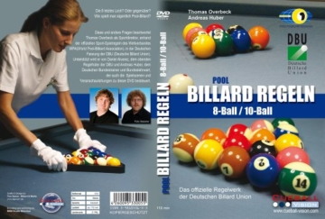 Pool Billard Regeln 8Ball / 10Ball DVD -