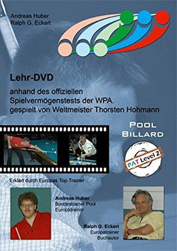Pool Billard Trainings DVD PAT 2. Mit dem offiziellen Spielvermögenstest der WPA -