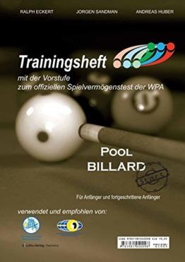 Pool Billard Trainingsheft PAT-Start: Mit der Vorstufe zum offiziellen Spielvermögenstest der WPA -