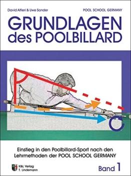 """Trainingsmethoden der Pool School Germany: Grundlagen des Poolbillard """"Einstieg in den Poolbillardsport nach den Lehrmethoden der POOL SCHOOL GERMANY"""" -"""